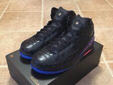 Nike Air Jordan 2 Retro Bhm (Gs) Black Metallic Gold Ci2972 007 Size Youth 7y