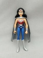 WONDER WOMAN JLU JUSTICE LEAGUE UNLIMITED action figure DC SUPER HEROES 4.5""