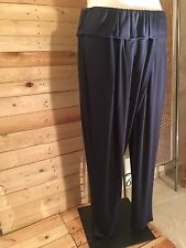 *Jean Marc Philippe* traumhafte Lagenlook-Hose, Gr 54/56 (T8), Farbe: Blau