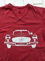 Scruff Mercedes T-Shirt Men's Size L - Cool Style & Design - COOL