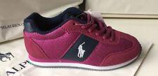 BNWT Polo Ralph Lauren Girls Designer Trainers Shoes UK 10.5 EU 27.5 RRP £70.00