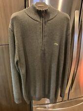 Lacoste Half Zip Cotton Sweater