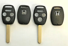 2 HONDA Remote Head Key  SHELL 4 BUTTON WITH CHIP HOLDER Top Quality !!!