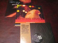 "BOBBY BYRD & JAMES BROWN RARE Got Soul HITS 180 GRAM 2 LPS + LIVE & 12"" SINGLE"