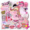 50pcs  VSCO Girl Cake Milk Skateboard Stickers Bomb Vinyl Laptop Luggage Decals