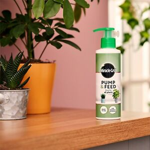 Miracle-Gro Pump & Feed All Purpose 200ml Ready to Use for Indoor Outdoor Plants