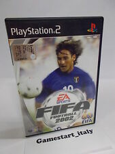 FIFA FOOTBALL 2002 (SONY PS2 PLAYSTATION 2) PAL VERSION