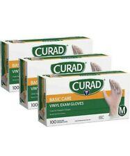 Exam Gloves Curad Basic Care Vinyl Disposable Exam Gloves Medium Pack Of 300