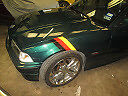 Three-Color-German-flag-Stripe-Hood-Decal-BMW--M3-M5-M6-X5-E30-E36-E4