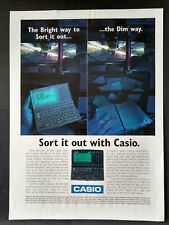 Casio SF-5580 Digital Diary - Magazine Advert #B3925