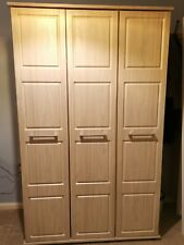 Triple Grey Grain Wardrobe From Pondsfords
