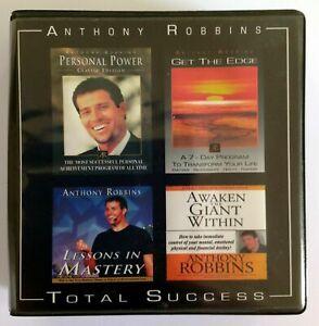 RARE Set Tony Robbins TOTAL SUCCESS Bundle 25 CDs GET THE EDGE + PERSONAL POWER