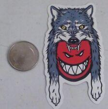 spitfire wheels sticker wolf hat skate skateboard cell laptop bumper decal
