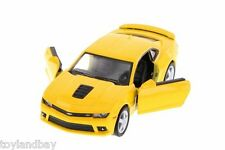 Kinsmart 5383D Chevrolet Camaro Hard Top 2014 1:38 Scale Diecast Model YELLOW