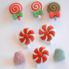 Christmas Candy Buttons /  Buttons Galore / Gum Drops ~ Pinwheels ~ Lollipops
