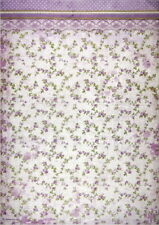 Rice Paper for Decoupage Sheet A/3 Provence Flowers