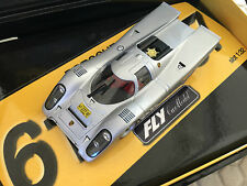 PORSCHE FLY 917 K STREET LEGAL CAR AL PLATES GIFT BOXED 1/32nd SLOT CAR NEW RARE