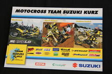 Card Motocross Team Suzuki Kurz 2004 Avis / Dobes / Izoird (HW)