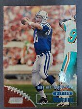 1998 Stadium Club Peyton Manning Rookie RC # Indianapolis Colts #195 HOF