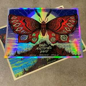 Jeff Soto Dave Matthews Band DMB Charlotte Poster Print Foil Art AP SOLD OUT
