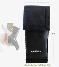 One pc. New, Unused Gerber Knife Pouch Fits Bolt Action, Sportsman Ii Buy It Now