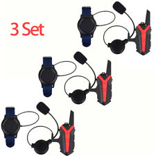 Motorbike Headset Bluetooth Intercom Walkie Talkie Radio+Earphone+Remote Control