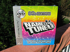 """Name that Tune"" 80s Edition DVD Board Game 2005~New & Factory Sealed!"