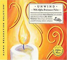 UNWIND with Alpha Brainwave Pulses (CD) - Silvia Nakkach & Jeffrey Thompson .NEW