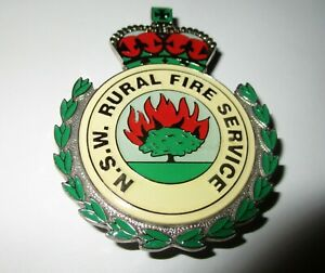 NSW RURAL FIRE SERVICE BADGE