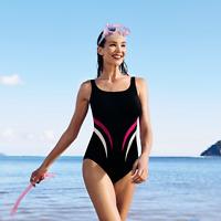 Anita Care BLACK Austin Mastectomy One Piece Swimsuit, US 8C Cup, NWOT
