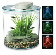 MARINA 360 10 Litre Aquarium Fish Tank with Remote Control LED Lighting