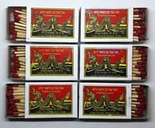 10 Boxes 400 Red Sticks Original Phrayanak Thailand Wooden Matches Fire Starters