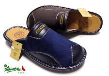Pantofole ciabatte uomo ARIZONA by PATRIZIA invernali calde solettaPELLE 1906