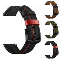 Uhr Band Leder Armband für Samsung Getriebe S3/Galaxy Uhr Mode 46mm E6T5
