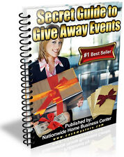 SECRET GUIDE TO GIVE AWAY EVENTS PDF EBOOK FREE SHIPPING RESALE RIGHTS