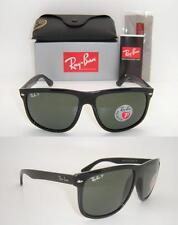 ec6de85332 New Authentic Ray-Ban RB 4147 601 58 60mm Black Frame   Green Polarized