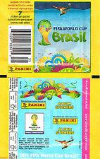 Panini PACKET - USA 7 Sticker Version - Brazil World Cup 2014 - New Type PK35