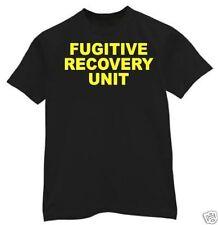 t-shirt FUGITIVE RECOVERY UNIT Bonds bail bounty hunter NEW 5 sizes