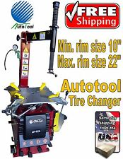"TIRE CHANGER TIRE MACHINE 20-22"" capacity AUT-503 - 626 Motor 1.6 HP"