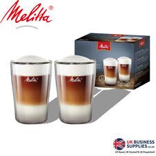Melitta Double Walled Latte Macchiato Coffee Glass Set 0.3 Litre Pack 2's
