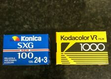 Kodak VR 1000 & Konica SXG 100  35mm lot expired film