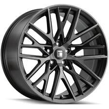 "Touren TR91 18x8 5x108 +35mm Black/Tint Wheel Rim 18"" Inch"