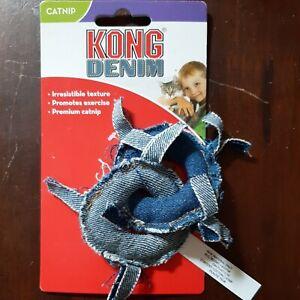 Kong Denim catnip cat toy