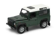 WELLY 22498G - 1/24 SCALE LAND ROVER GREEN WITH WHITE ROOF