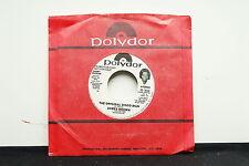 """JAMES BROWN """"The Original Disco Man"""" 7"""" RARE Promo 45 SOUL NM"""