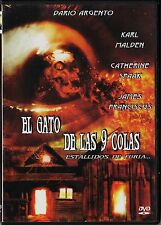 Dario Argento: EL GATO DE LAS 9 COLAS. Cine giallo, Italia.