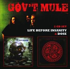 Life Before Insanity/Dose by Gov't Mule (CD, May-2010, 2 Discs, Floating World)