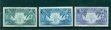 LIBYA (KINGDOM) 1959 MI. 82/84 Emblems 1st FAO Conference