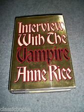 Interview With the Vampire Anne Rice True 1st Issue 1st Print