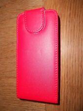 SAMSUNG I8910 OMNIA HD flip case red